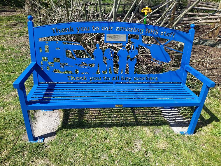 Covid Bench Lower Recreation Field